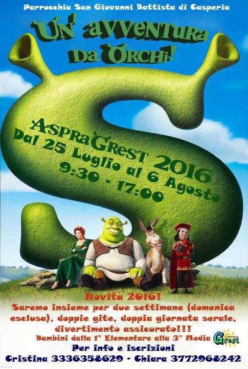 locandina grest 2016